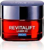 L oreal paris nachtcreme 50 ml revitalift laser x3 anti falten
