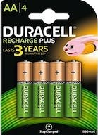 Duracell Recharge Battery Plus AA 4st