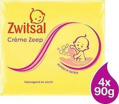 Zwitsal Baby Crème Zeep 4 x 90 gram