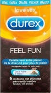 Durex Condooms Feel Fun 6 Stuks
