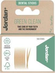 Jordan Dental Sticks Green Clean 100 stuks