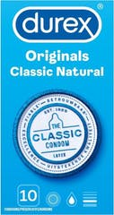 Durex Condooms Classic Natural 10 stuks