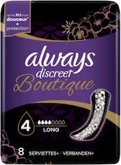 Always Discreet Boutique Maandverband Long 8 Stuks