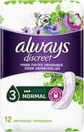 Always Discreet Maandverband Normaal 12 stuks