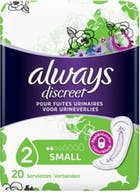 Always Discreet Maandverband Small 20 stuks