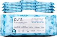 Pura 100% Plasticvrije Doorspoelbare Babydoekjes - 700 doekjes