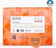 Pura Eco-Friendly luiers Maat 4  (7-18kg), 145 luiers
