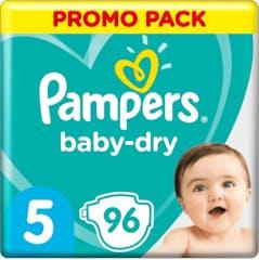 Pampers Baby Dry Maat 5 - 96 Luiers