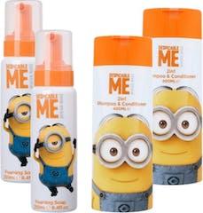Minions Shampoo & Badschuim Voordeel Pakket