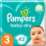 Pampers Baby Dry Maat 3 - 42 Luiers