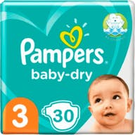 Pampers Baby Dry Luiers Maat 3 - 30 Luiers