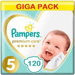 Pampers Premium Care Große 5 - 120 Windeln Vorteilpackung