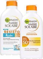 Garnier Ambre Solaire Zonnebrand Familie Pakket