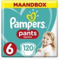 Pampers Pants Maat 6 - 120 Luierbroekjes Maandbox