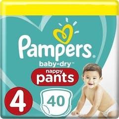 Pampers Baby Dry Pants Große 4 - 40 Windelhosen