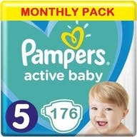 Pampers Active Baby Maat 5 - 176 Luiers Maandbox