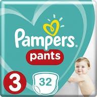 Pampers Baby Dry Pants Maat 3 - 32 Luierbroekjes
