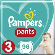 Pampers Baby Dry Pants Maat 3 - 96 Luierbroekjes