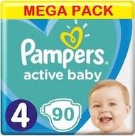 Pampers Active Baby Maat 4 - 90 Luiers
