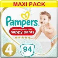 Pampers Premium Protection Pants Maat 4 - 94 Luierbroekjes Voordeelverpakking