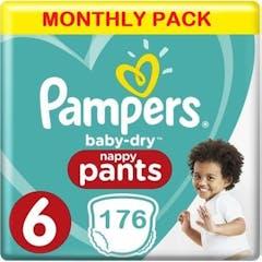 Pampers Pants Maat 6 - 176  Luierbroekjes Maandbox