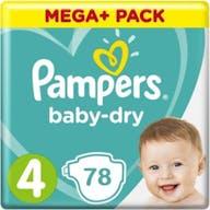 Pampers Baby Dry Luiers Maat 4-78 Luiers