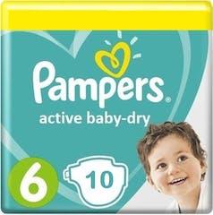 Pampers Active Baby Dry Maat 6 - 10 Luiers