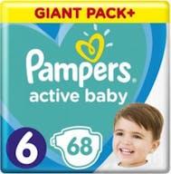 Pampers Active Baby Windeln Große 6 - 68 Windeln