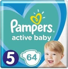 Pampers Active Baby Maat 5 - 64 Luiers