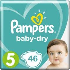 Pampers Baby Dry Maat 5 - 46 Luiers