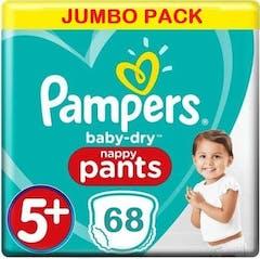 Pampers Baby Dry Pants Maat 5+ - 68 Luierbroekjes