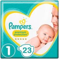 Pampers Premium Protection Luiers Maat 1 - 23 Luiers