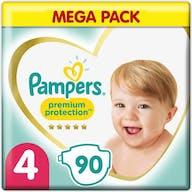 Pampers Premium Protection Maat 4 - 90 Luiers