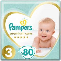 Pampers Premium Care Große 3 - 80 Windeln