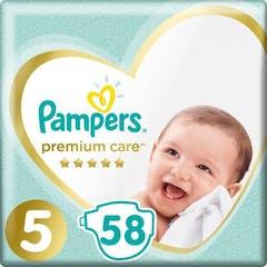 Pampers Premium Care Maat 5 - 58 Luiers
