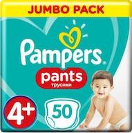 Pampers Baby Dry Pants Maat 4+ - 50 Luierbroekjes