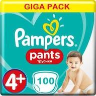 Pampers Baby Dry Pants Maat 4+ - 100 Luierbroekjes Voordeelvepakking