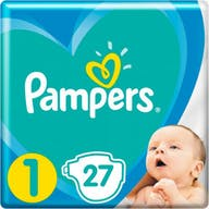 Pampers Active New Baby Windeln Große 1 - 27 Windeln