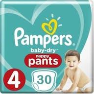 Pampers Baby Dry Pants Maat 4 - 30 Luierbroekjes