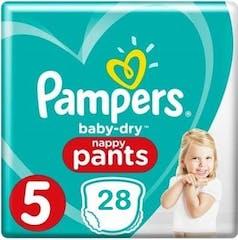 Pampers Baby Dry Pants Große 5 - 28 Windelhosen