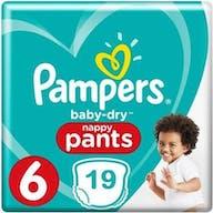Pampers Baby Dry Pants Maat 6 - 19 Luierbroekjes