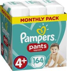 Pampers Baby Dry Pants Maat 4+ - 164 luierbroekjes Maandbox