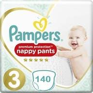 Pampers Premium Protection Pants Große 3 - 140 Windelhose Monatsbox