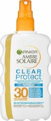 Ambre Solaire Clear Protect Refresh F30 Zonnespray