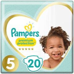 Pampers Premium Protection Maat 5 - 20 Luiers