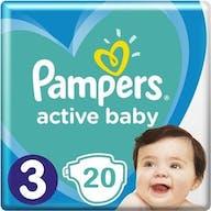 Pampers Active Baby Maat 3-20 Luiers