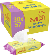Zwitsal Sensitive Billendoekjes 1710  Babydoekjes (30 x 57 stuks )