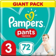 Pampers Pants Maat 3 - 72 Luierbroekjes