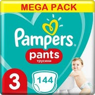 Pampers Pants Maat 3 - 144 Luierbroekjes