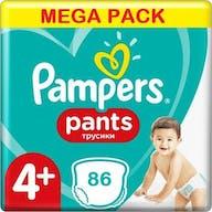 Pampers Pants Maat 4+ - 86 Luierbroekjes